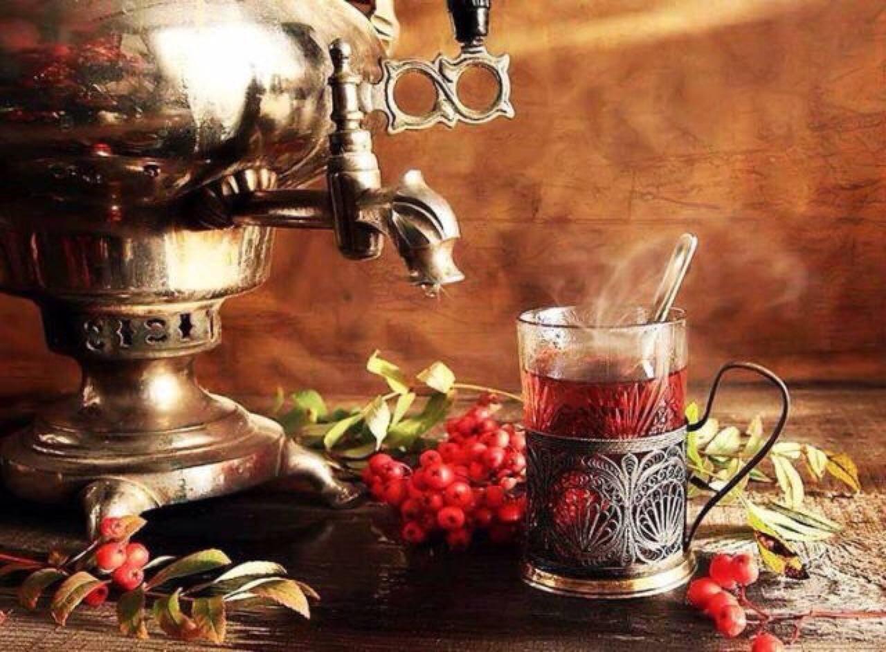 Чай самовар