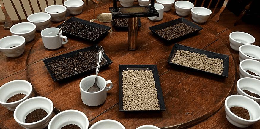 Каппинг. дегустация кофе