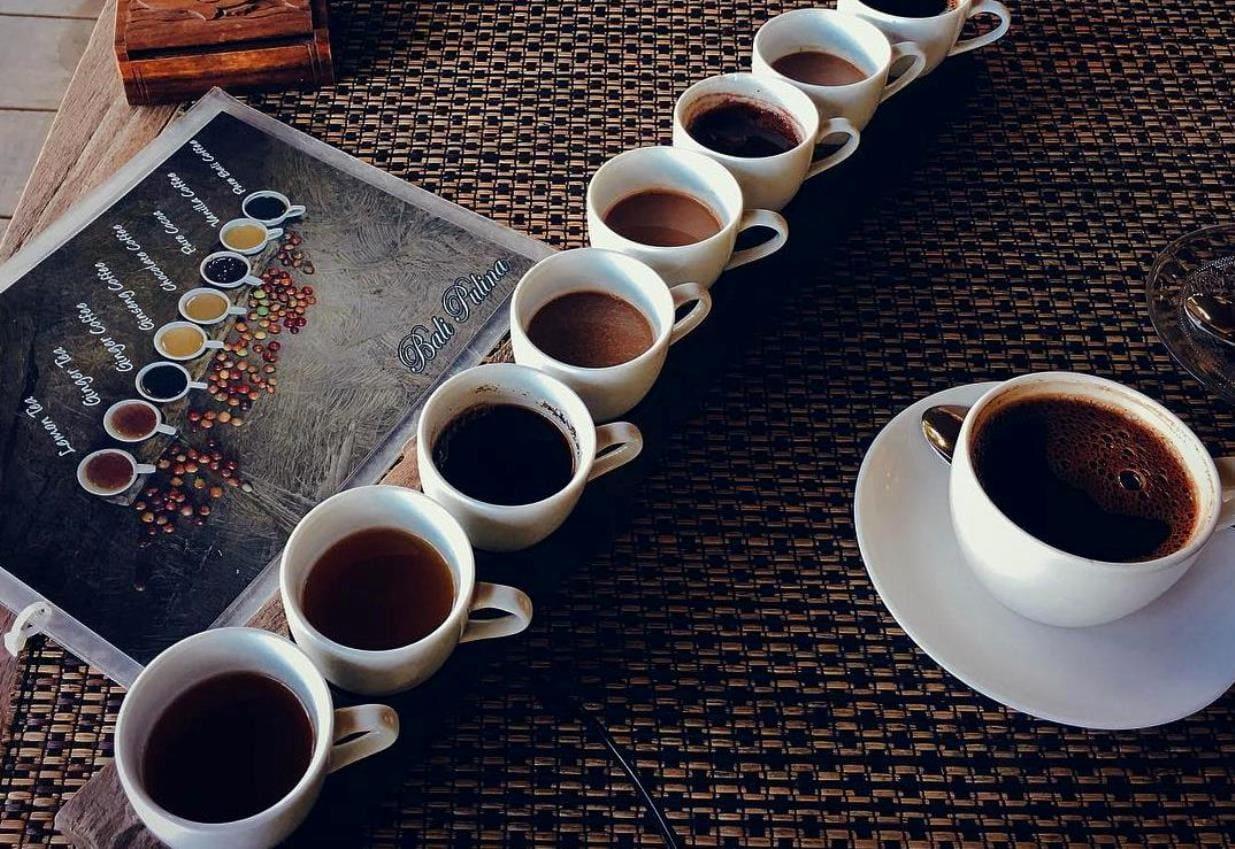 кофе дегустация