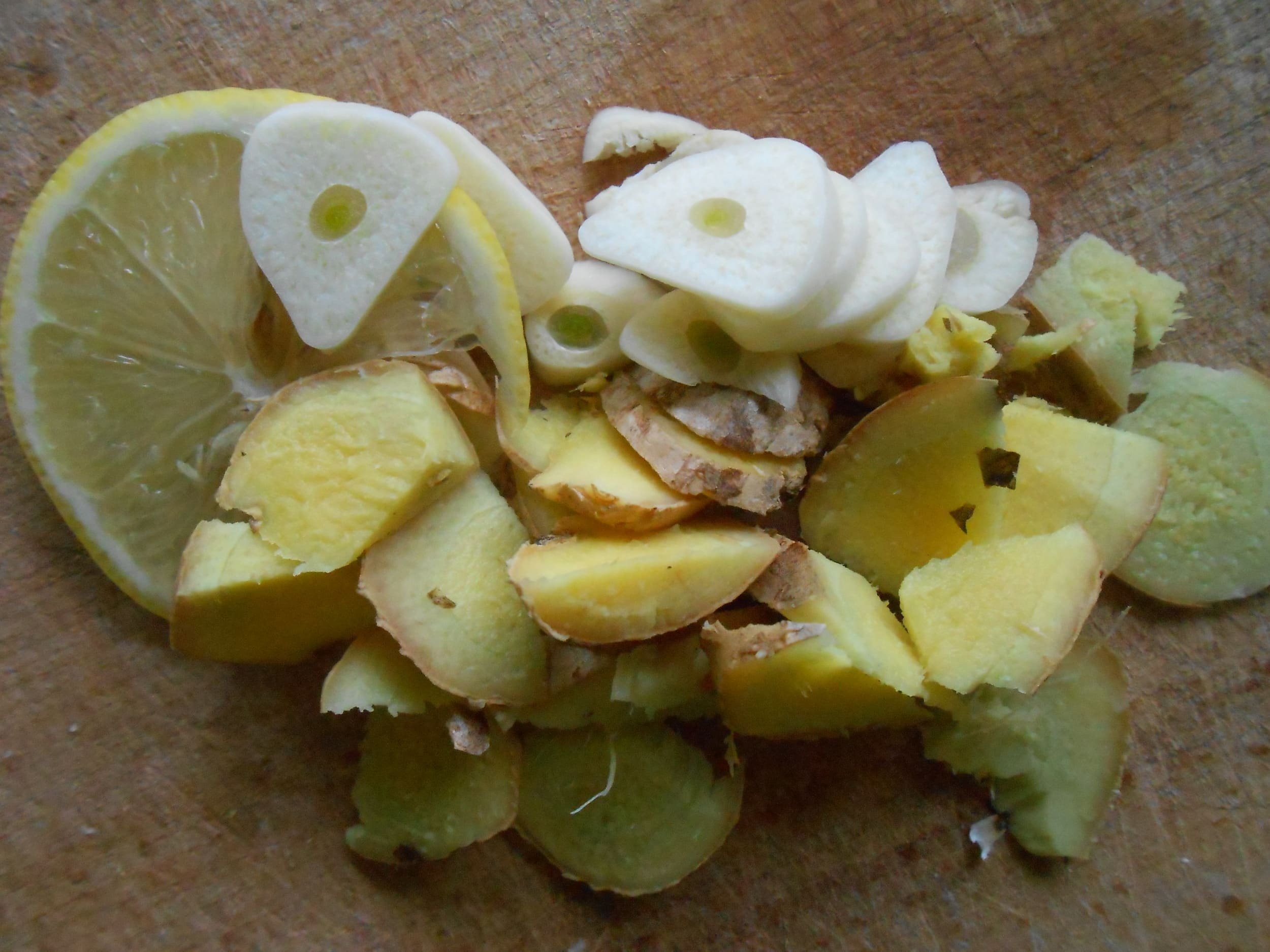 Имбирь лимон чеснок лимон