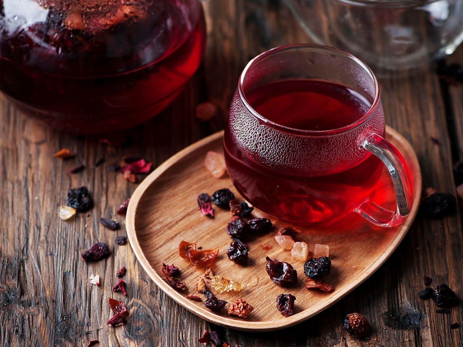 Чай с шиповников